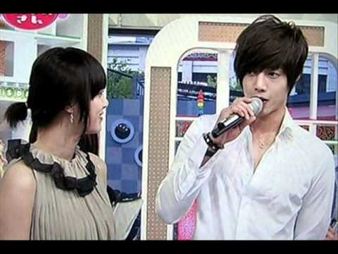 Kim Hyun Joong and Goo Hye Sun _ sweet moments !
