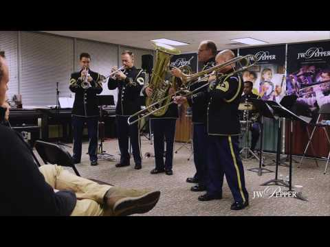The Army Brass Quintet   Simple Gifts