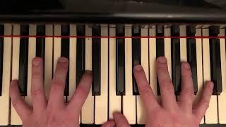 Уроки игры на пианино #80 Упражнение Маргариты Лонг Школа фортепиано