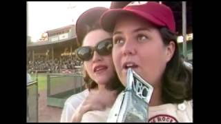 MADONNA & ROSIE O'DONNELL on LIVE TV WEATHER REPORT 1991 A League Of Their Own