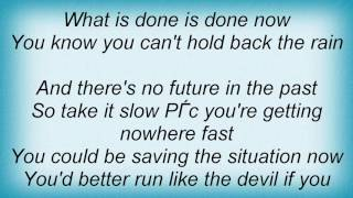Alan Parsons Project - No Future In The Past Lyrics