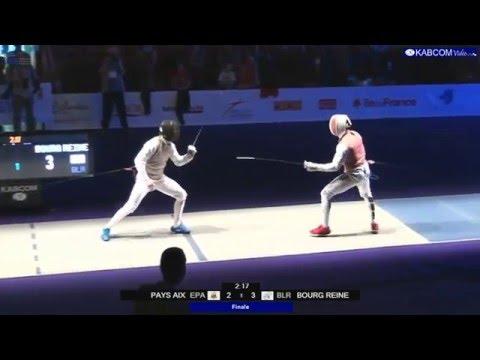 FRANCE FLEURET N1 2016 FMT Final Bourg la Reine BLR vs Pays d'Aix EPA
