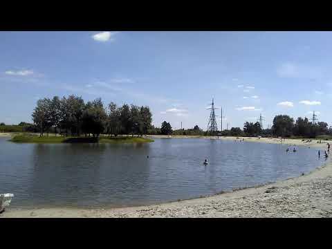 Озеро в Мурованому біля Львова