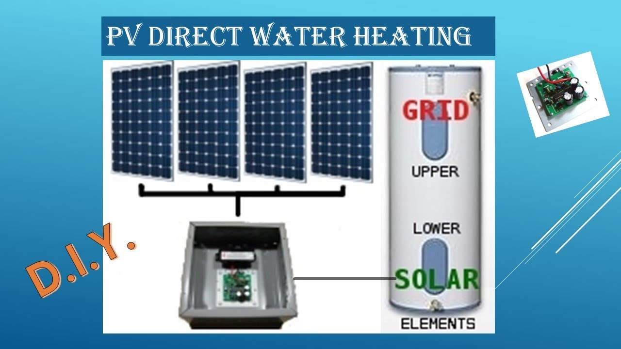 The Quest: PV Direct Water Heating - YouTube