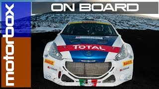Peugeot 208 T16 Rally: on board sulla neve con Andreucci