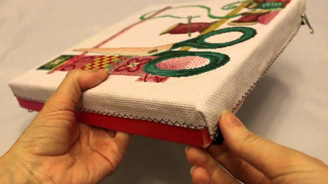 Схема вышивки крестом шкатулка