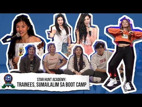 Star Hunt Academy Trainees sumailalim sa boot camp  Star Hunt Academy