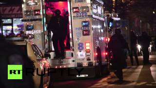 USA: Two NYPD cops shot dead in Brooklyn