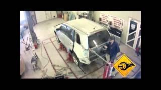 Кузовной ремонт Suzuki Escudo в автосервисе Триумф Авто ДВ