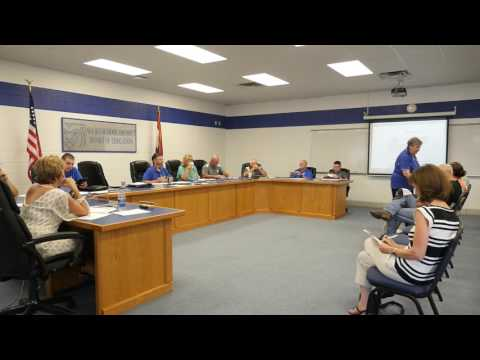 August 18 2016 Ava School Board Meeting