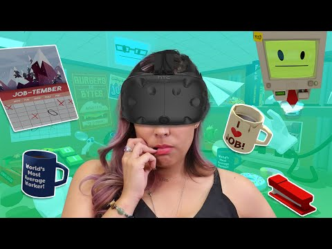 BEST OFFICE WORKER!! - Job Simulator VR