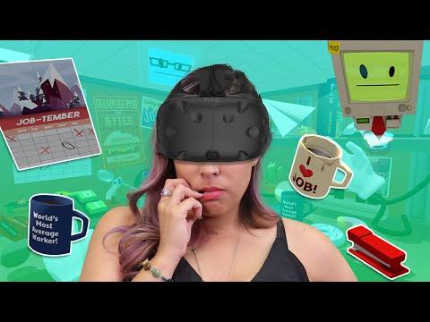 BEST OFFICE WORKER!! - Job Simulator VR