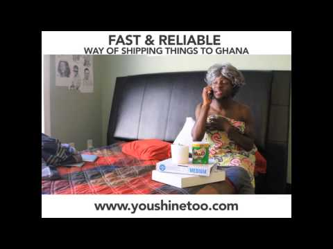 FAST SHIPMENT TO GHANA (African Comedy)