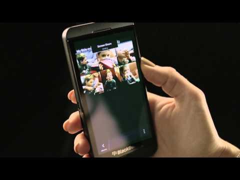 BBM Video Chat De BlackBerry 10 Con Pantalla Compartida