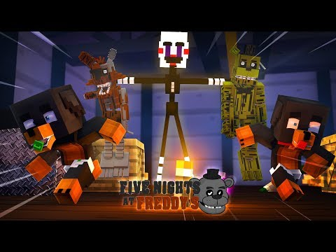 Minecraft FIVE NIGHTS AT FREDDY'S - THE PUPPET MASTER HAS TR