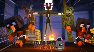 Minecraft FIVE NIGHTS AT FREDDY'S - THE PUPPET MASTER HAS TRAPPED DONUT IN THE FNAF HOTEL
