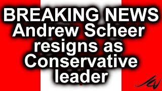 Andrew Scheer resigns  - Angry Canadian BREAKING NEWS - Conservative leader  gone -  Dec  12, 2019