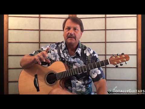 Pancho And Lefty  Acoustic Guitar Lesson - Townes Van Zandt