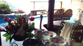 Rainbow Suite at Ladera Resort, St. Lucia Video