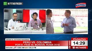Exitosa Deportes | Transmisión del partido Perú vs. Colombia