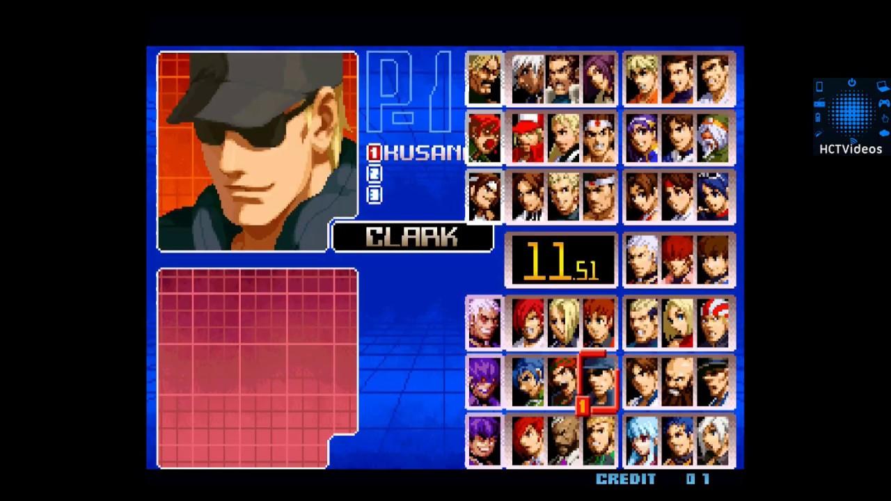 The King of Fighters y otros juegos para Android EMULADOR MAME4DROID