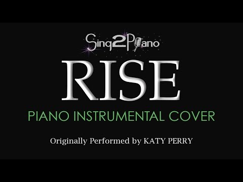 RISE (Piano Instrumental Cover) Katy Perry