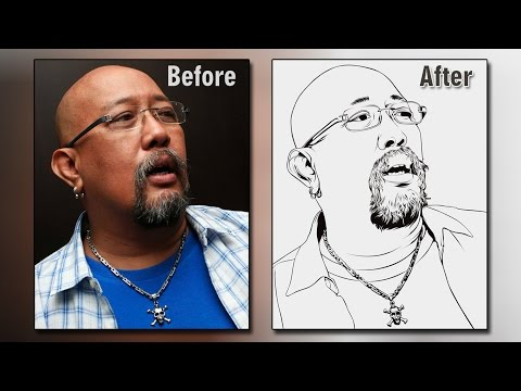 Time Lapse Line Art Vector/Vexel PhotoShop Indro Warkop