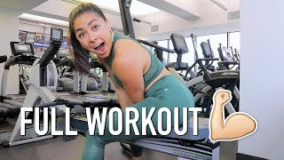 How I Structure My Workouts (Full Workout) & TJ Maxx Haul!