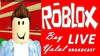 Let's Play Roblox Live Now! #14 (12.08.2017 d/m/y)