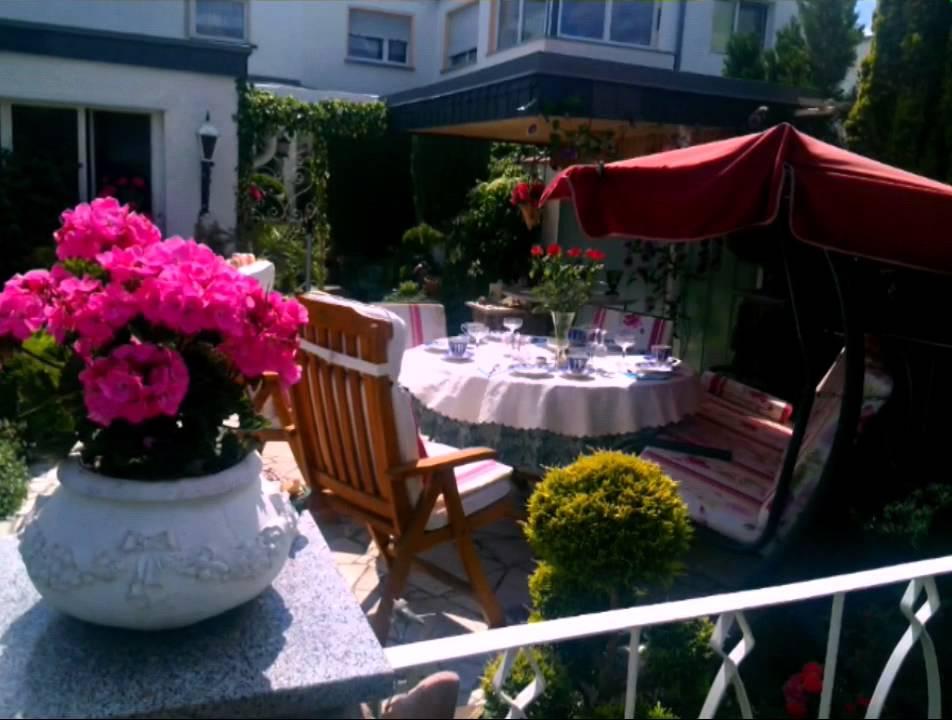 Unser Reihenhaus Garten - YouTube