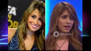 Es parecida a Antonella Rocuzzo pero a ella le falta su Messi