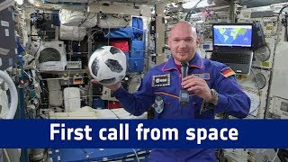 Horizons mission - First call from space