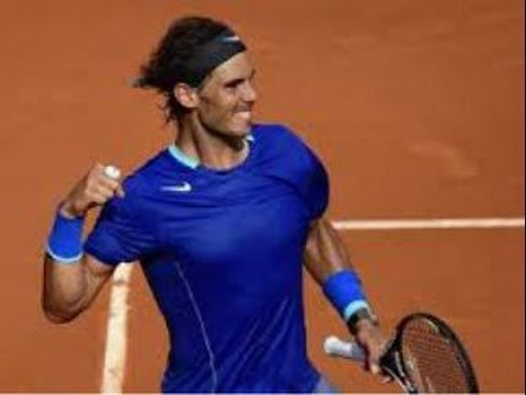 Rafael Nadal Defeats Robby Ginepri - 2014 French Open