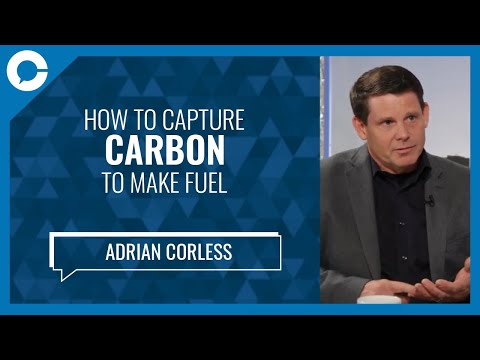 Carbon Engineering Adrian Corless: How to Capture Carbon to Make Fuel