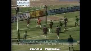 Los Goles de las Clasificatorias - Eliminatorias Sudamericanas Rumbo a Francia 1998 (IDA)