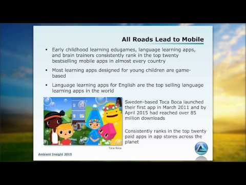Sam S. Adkins - Global Market for Game Based Learning