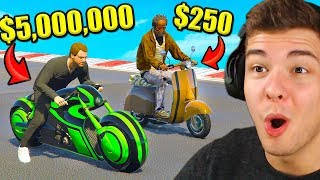 BILLIGSTES vs. TEUERSTES Motorrad in GTA 5!