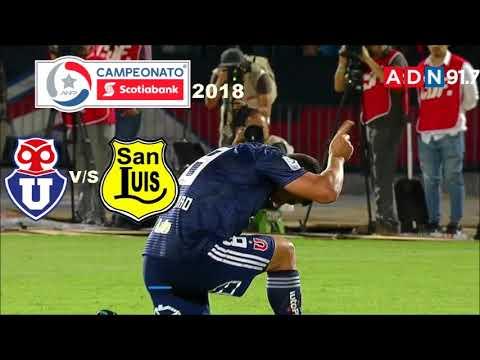 Universidad De Chile 3 San Luis 0 - Campeonato Scotiabank 2018 - ADN Radio Chile 91.7