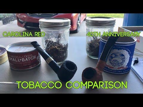 Tobacco Comparison - C&D Carolina Red / McClelland 40th Anniversary