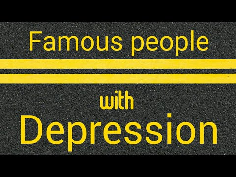 50 Famous People Who Battled Depression