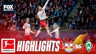 Leipzig 3-2 Werder Bremen | HIGHLIGHTS | Jornada 17 | Bundesliga