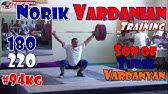 Norik Vardanian (USA, 94KG)Olympic Weightlifting TrainingMotivation