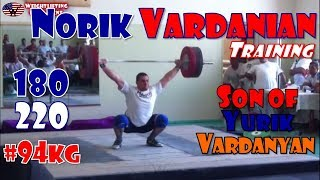 Norik Vardanian (USA, 94KG) | Olympic Weightlifting Training | Motivation