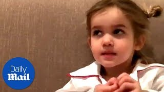 This little girl speaks the truth about Valentine's Day -Daily Mail
