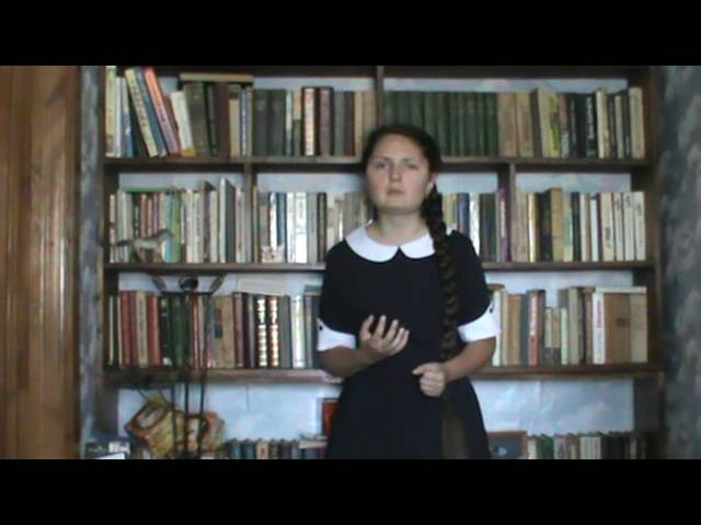 Изображение предпросмотра прочтения – ВладаРодионова читает произведение «Письмо к женщине» С.А.Есенина