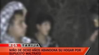 NIÑO DE OCHO AÑOS ABANDONA SU HOGAR POR SUPUESTO MALTRATO