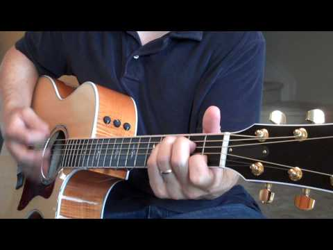 David Crowder - Only You (Guitar Instructional) Easy to Play (Matt McCoy)