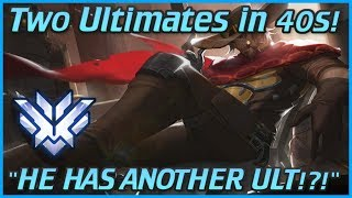I Got 2 High Noons in 40 Seconds! Ovewatch Top 500 McCree Gameplay! (Samito)
