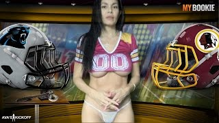 NFL Monday Night Football Panthers vs Redskins MyBookie Odds Preview