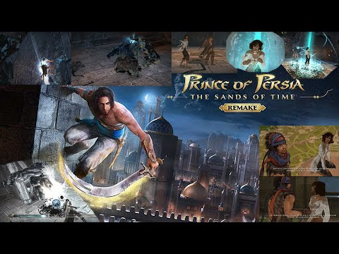 Prince of Persia: The Sands of Time Remake | Best Scenes - PC Game | Prince of Persia 2021 Gameplay |